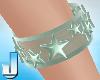 Pastel Stars Mint Armban