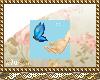 Lovely butterfly badge