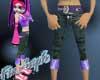 purple lightning s jeans