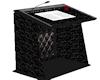 black podium animated