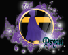 PsY Raven Purple Cloak