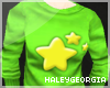 {HG} Green Star Sweater