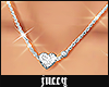 JUCCY Heart Thin Chain