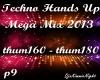 Techno Mega Mix 9/18