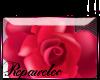 *R* HotPink Rose Sticker