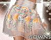 Spring2018 Floral Skirt