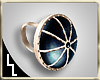 Caged Raven Eye Ring
