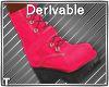 DEV - Pink Camp Boots