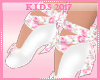[TK] Shoes Floral Kids