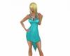 evas aqua dress