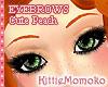 DOLL Cute Peach Eyebrows