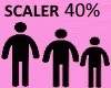 Scaler 40%