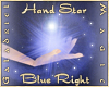 Hand Star (Blue Right)
