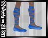 @ Mans Ballet Flats Blue