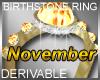 Birthstone Ring November