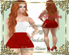 Andreas dress red