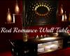 !T Red Romance Wall tabl