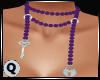 Pearls Purple Lock & Key