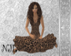 Modest Cheeta Dress