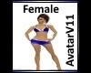 T   Female Avatar V11