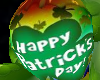 St Pats Shamrock Balloon