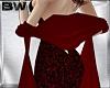 Red Vamp Shawl Scarf  V
