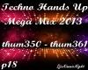 Techno Mega Mix 18/18