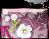 *R* White Roses Sticker