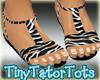 Kids Zebra Summer Sandal