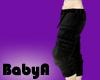 BA Baggy Black Cargos