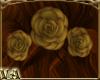VA~ 3 Golden Roses Back