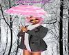 Lady Pink Parasol