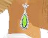 ~CA~Emerald Earrings