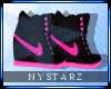  Nike Wedges Blk/Pink