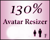 Avatar Resize Scaler 130