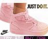 [B] Pink Nike Shoes