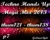 Techno Mega Mix 7/18