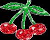 glitter cherry