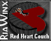 Red Heart Couch