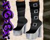 [X] Blk Fetish Boots v.2