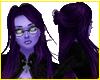 Zoila Purple Long Hair