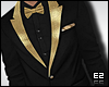 Ez| Suit -Black and Gold