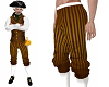 Steampunk baroque pants