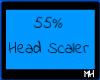 55%HeadScaler