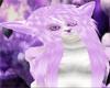 Violet Fox Hair Unisex