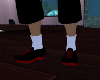 (chad)blacknred sneakers