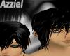 U/ Black Layerable hair