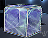 PC Chat Glass Cube Seat