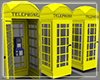 +Square Phone Booth+