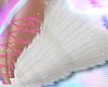 Leg PomPoms White